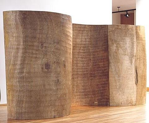 biombo de madera the wall