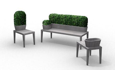 Bancos y sillas para el jard n for Bancos de jardin usados