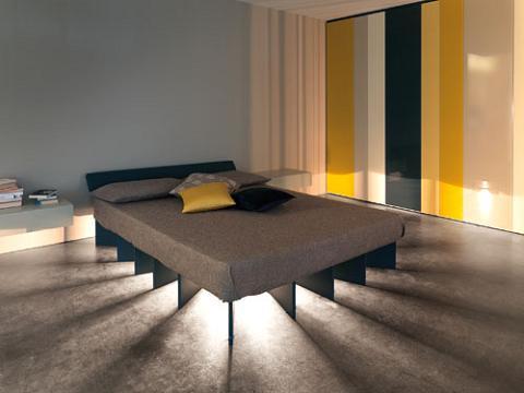 cama luz Cama iluminada Beam Bed