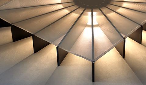 cama luz2 Cama iluminada Beam Bed