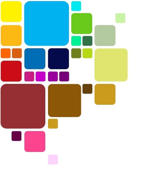 Combinación de colores en la decoración