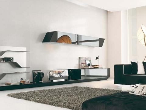decoraci n con muebles italianos