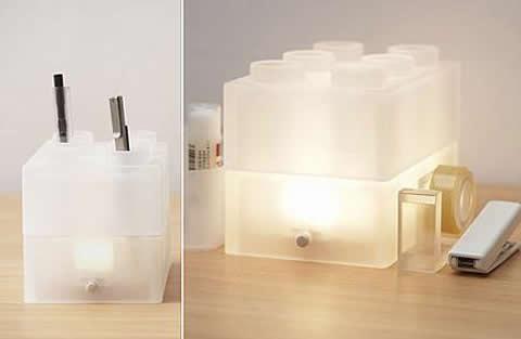 lamparalego Lámpara LEGO