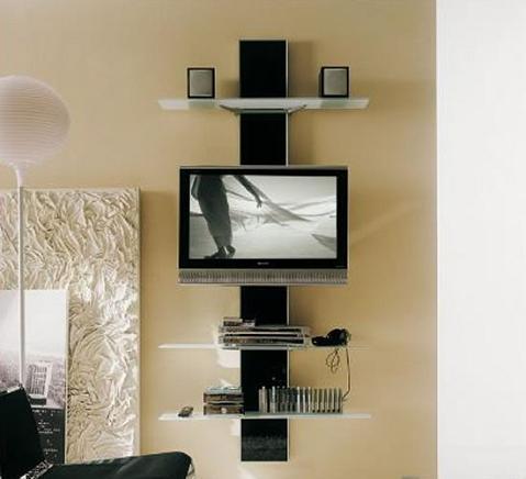 Estanter a en forma de columna para espacios peque os for Mueble zapatero para espacios pequenos