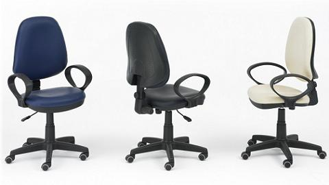 Claves para elegir una silla de oficina for Sillas para oficina de madera