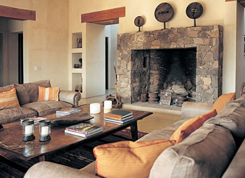 Decoraci n de salones - Decoracion salones con chimenea ...