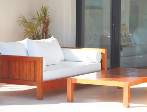 Muebles de exterior for Mueble de aluminio exterior