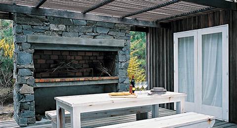 Barbacoas y parrillas con estilo for Barbacoa patio interior