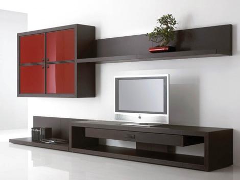 Muebles modernos de estilo japon s - Muebles para tv dormitorio ...