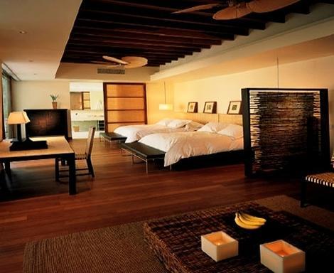 Decoraci n en habitaciones de hoteles for Diseno de habitacion de hotel