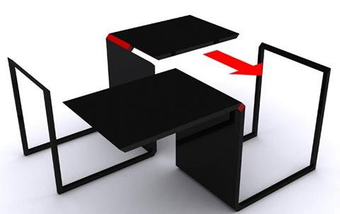 Muebles multifunci n para espacios peque os - Muebles pisos pequenos ...