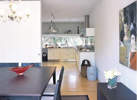 Fusionar ambientes cocina for Salones integrados cocina