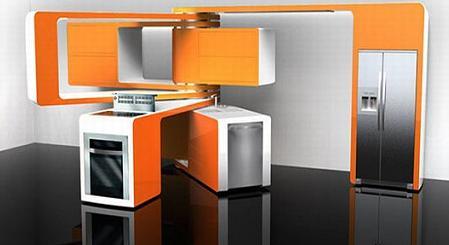 Cocina modular para espacios peque os for Cocinas en espacios reducidos