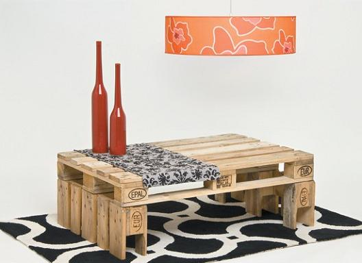 Crea muebles con palets