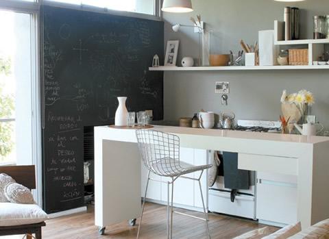 Barras americanas de cocina - Cocinas americanas minimalistas ...