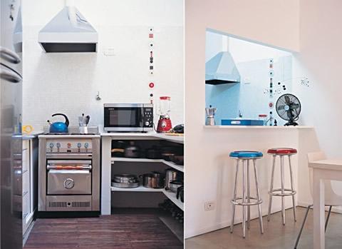 Barras americanas de cocina for Cocinas en departamentos pequenos