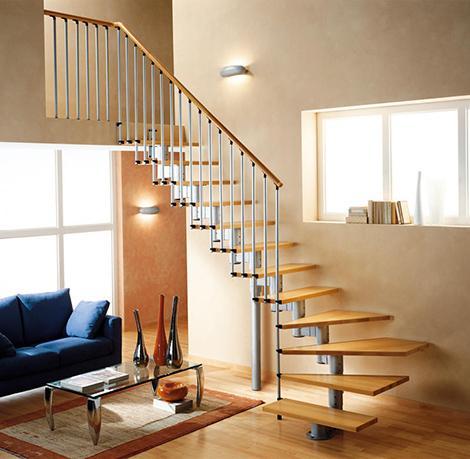 Escaleras dentro de casa - Escaleras para interior de casa ...