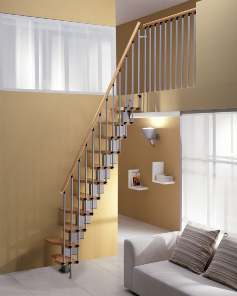 Decorablog revista de decoraci n - Modelos de escaleras para casas pequenas ...
