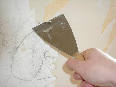 Alisar paredes - Se puede empapelar sobre gotele ...