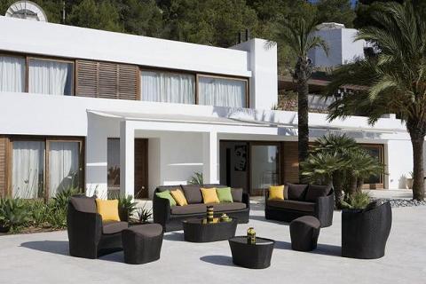 Muebles de exterior Kettal, respetuosos con el medio ambiente