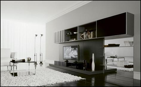 Salones minimalistas y abiertos for Cocinas y salones abiertos
