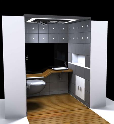 Cuarto de ba o ecol gico - Ideas para construir mi casa ...