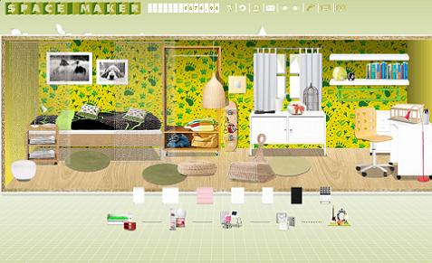 Space maker el nuevo simulador de ambientes de ikea - Simulador pintar habitacion ...