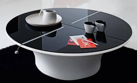 Mesas de caf modernas for Modelos de mesas para cafeteria