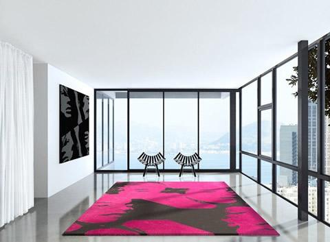 alfombra 12 Cómo el diseño Room Decor alrededor de su área Alfombra Bold