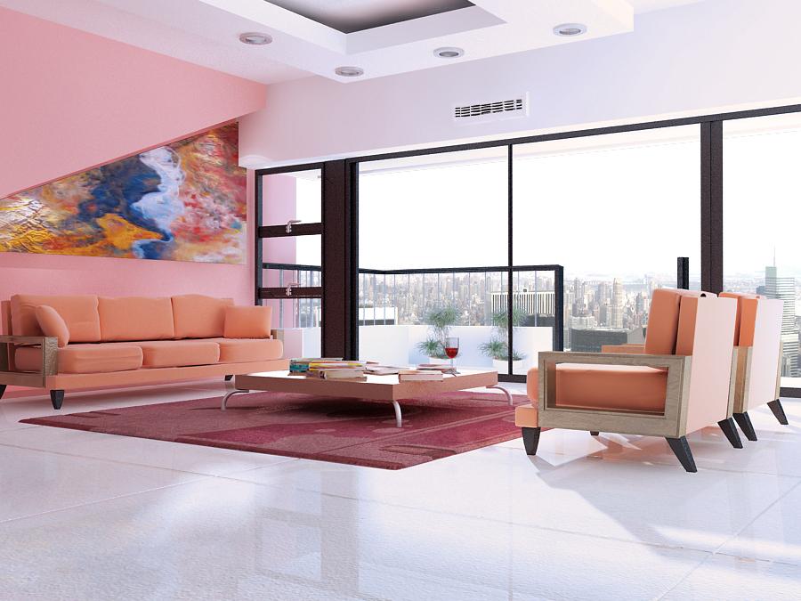 Dise o de casas con autodesk 3d studio max - Diseno de casas 3d ...