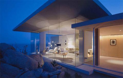 Casa de playa minimalista - Muebles para apartamentos de playa ...