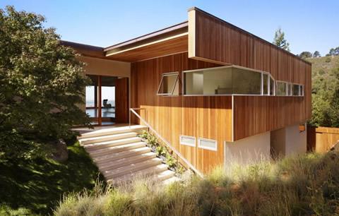 casas madera modernas