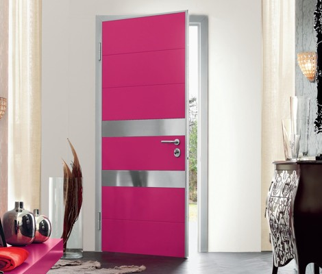 puerta moderna 1 Pintar puertas