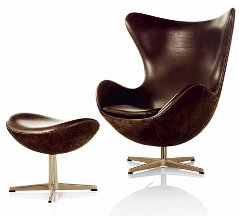 Sillas y sof s de dise o arne jacobsen for Sillas de salon de diseno