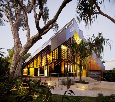 Casa contempor nea en australia for Casa contemporanea