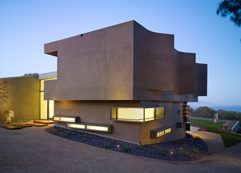 Moderna casa de lujo en Malibu