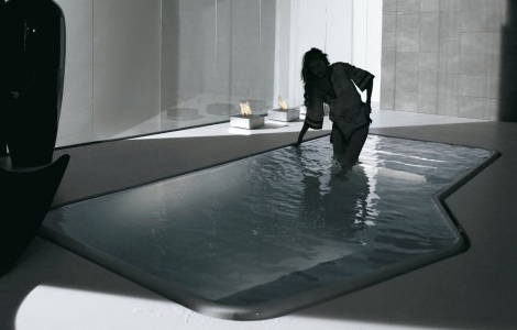 Peque as piscinas interiores for Piscinas interiores pequenas