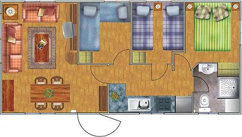 planos de casas 8x6