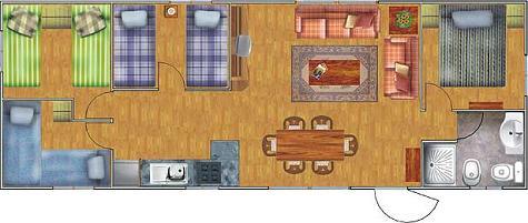 planos de casas 6 por 18