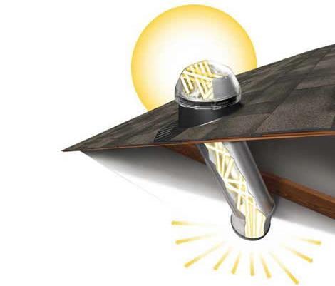 Los tragaluces para la iluminaci n - Tragaluces para tejados ...
