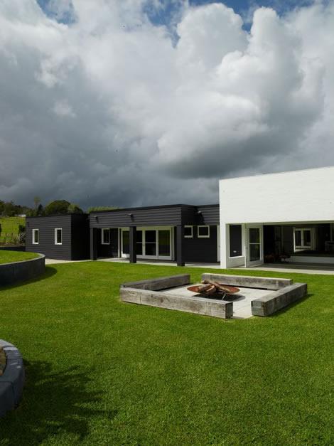 Moderna casa minimalista - Porche casa moderna ...