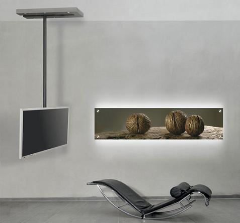 Televisi n minimalista - Porta tv da soffitto ...