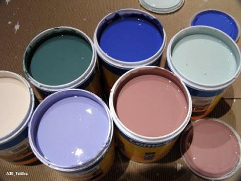 Guardar y conservar pintura - Muestrario de colores para pintar paredes ...