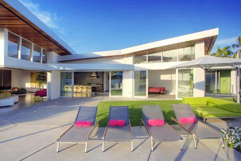 Casa de lujo con colores llamativos - Fotos casas de lujo ...