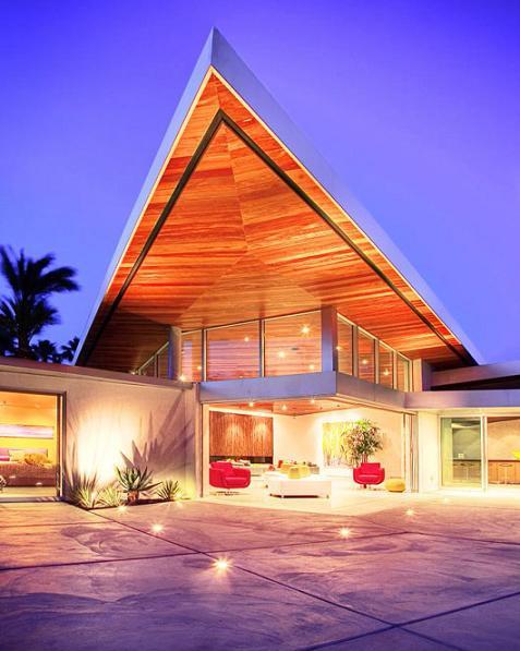 Casa de lujo con colores llamativos - Colores llamativos ...