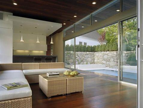 Decorablog revista de decoraci n for Casas modernas con piscina interior
