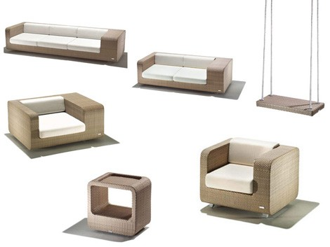 Muebles para la terraza de sch nhuber franchi for Sofa baul terraza