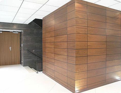Paneles de madera para las paredes - Paneles madera jardin ...