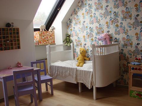 Papel pintado para habitaciones infantiles - Habitaciones papel pintado ...