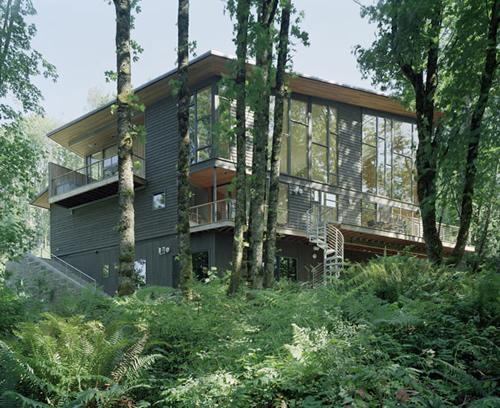 Lujosa casa de monta a en medio del bosque - Apartamentos de montana ...